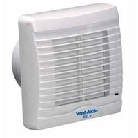 Vent Axia VA100XP Axial Bathroom/Toilet Extractor Fan with Pullcord and Shutters