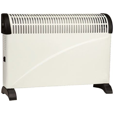 Vent Axia VACH2-TC 2 KW Portable & Wall Mountable Convector Heater with 3 Heat Settings and Silent Operation (426250B)