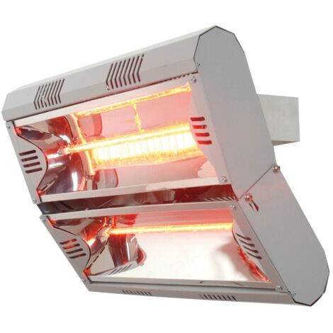 Vent-Axia Vari4000 4kW 240V Infra Red Patio Heater - 447603