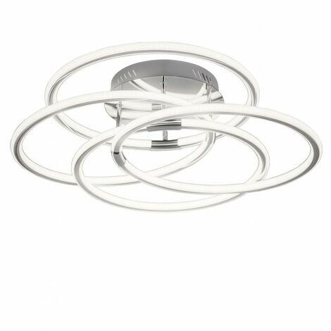 Venta online de Plafon decorativo cromo CAROL LED 60W 4000K