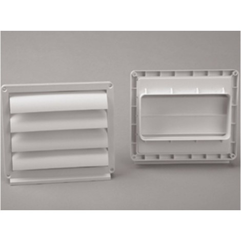 Ventana ex/aire tubo rectangular 150x75mm ign/aut salida ext