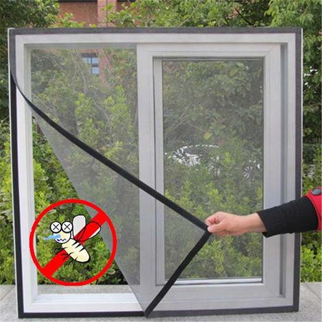 Ventana Mosquitera Mosquitera Mosquito Insecto Mosca mágica Protectora Magnética Adhesiva Hasaki