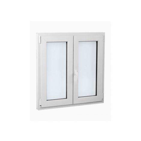 VENTANA PVC - 100 CM X 100 CM - 2 HOJAS - OSCILOBATIENTE ( REF. 37 )