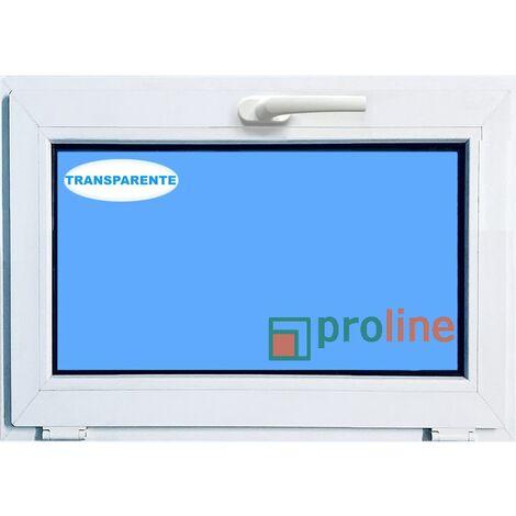 VENTANA PVC BLANCA 800x500 ABATIBLE (GOLPETE) CLIMALIT