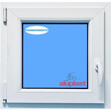 VENTANA PVC BLANCA 900x900 OSCILOBATIENTE IZQUIERDA CLIMALIT