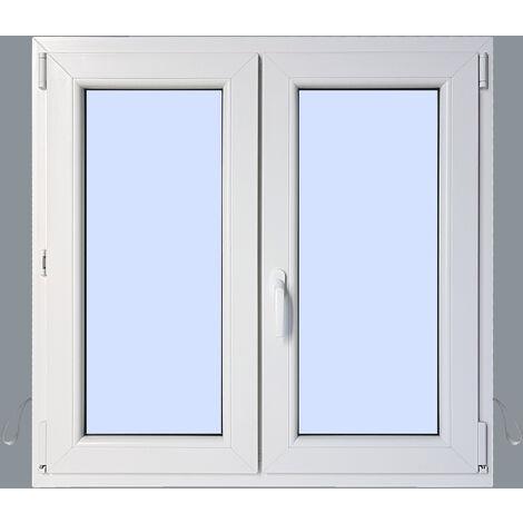 Ventana PVC Practicable Oscilobatiente 2 hojas 1000X1000 2h