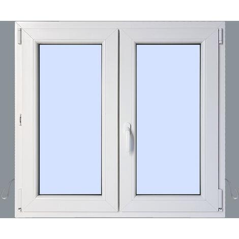 Ventana PVC Practicable Oscilobatiente 2 hojas 1200X1000 2h