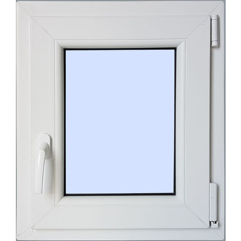 Ventana PVC Practicable Oscilobatiente Derecha 500X600 1h carglass