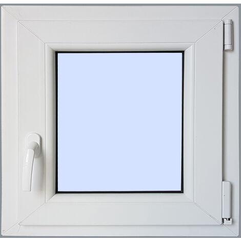 Ventana PVC Practicable Oscilobatiente Derecha 600X500 1h carglass