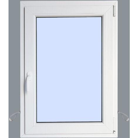 Ventana PVC Practicable Oscilobatiente Derecha 800X1000 1h
