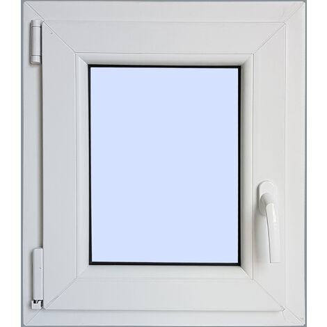 Ventana PVC Practicable Oscilobatiente Izquierda 500X600 1h carglass