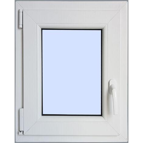 Ventana PVC Practicable Oscilobatiente Izquierda 500X700 1h carglass
