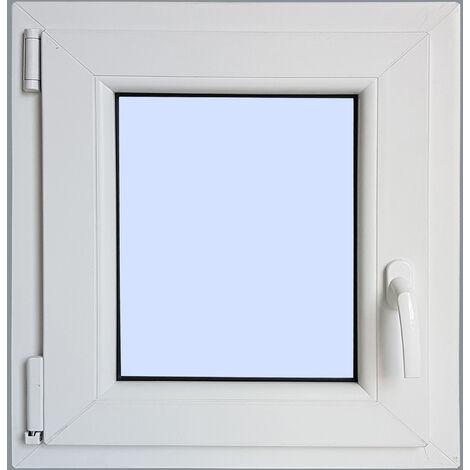 Ventana PVC Practicable Oscilobatiente Izquierda 600X500 1h carglass