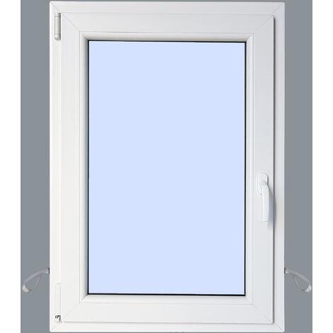 Ventana PVC Practicable Oscilobatiente Izquierda 800X1000 1h
