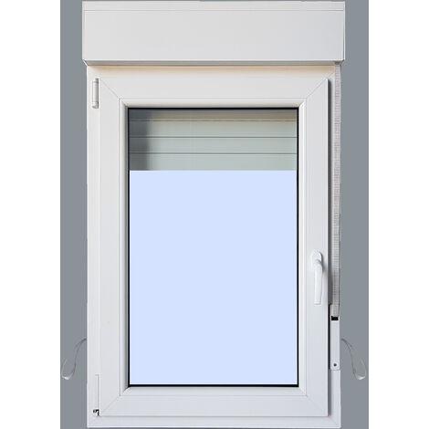 Ventana PVC Practicable Oscilobatiente Izquierda con Persiana (PVC) 800X1155 1h