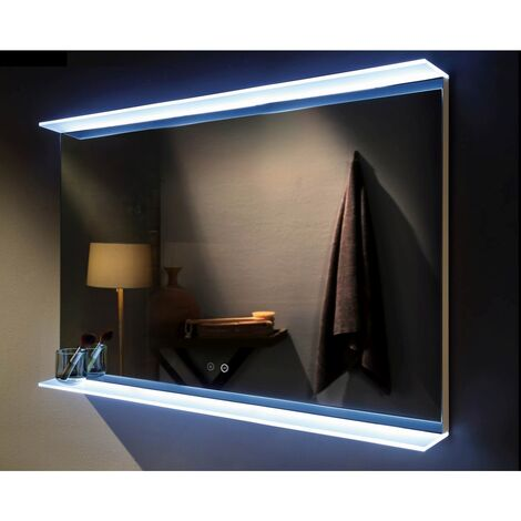 Venti 1000mm x 700mm Rectangular LED Mirror