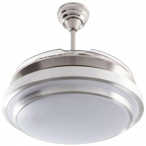 Ventilador aspas desplegables SELENE LED 36w con mando a distancia