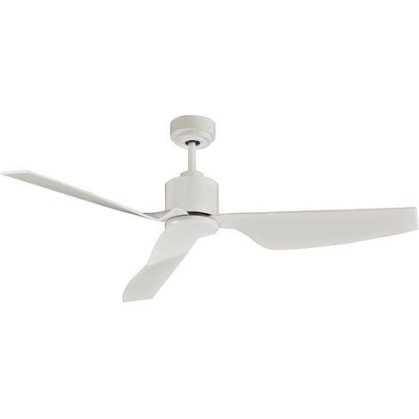 Ventilador blanco sin luz de motor de CC cm 127x33x127 Lucci Air 210528