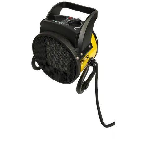 Ventilador calefactor cerámico 2000W PTC cm 21,0x16,0x21,7 italia EH6-02-giallo