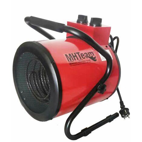 Ventilador calefactor industrial 3000W cm 31,5x33,0x40,0 MHTEAM EH4-03