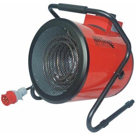 Ventilador calefactor trifásico 9000W cm 35x40,5x46 italia EH4-09