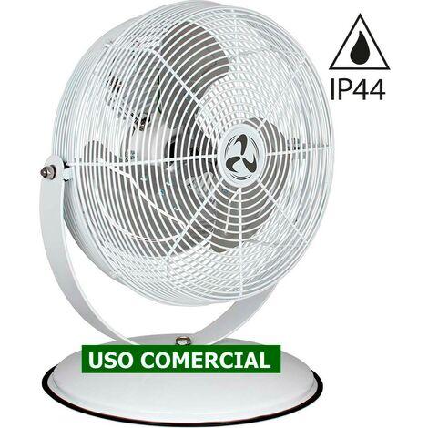 Ventilador de mesa industrial CasaFan 303508 DESK2PROTECT blanco