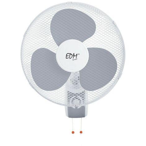 Ventilador de pared 3 velocidades Ø40cm 45W EDM