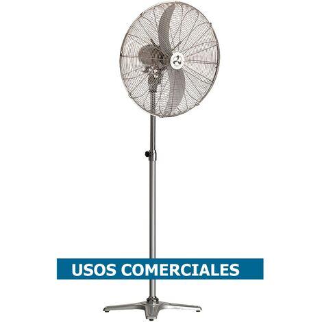 Ventilador de pie CasaFan 207503 WM2 STAND ECO gris plateado