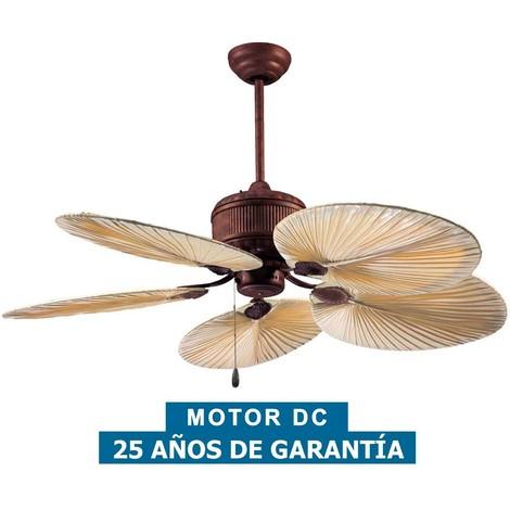 Ventilador de techo CasaFan 9262901 CARIBBEAN DREAM ECO 137 rustico
