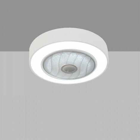VENTILADOR DE TECHO COMPACTO MODELO BLAAST LED 50CM BLANCO MATE - ACB