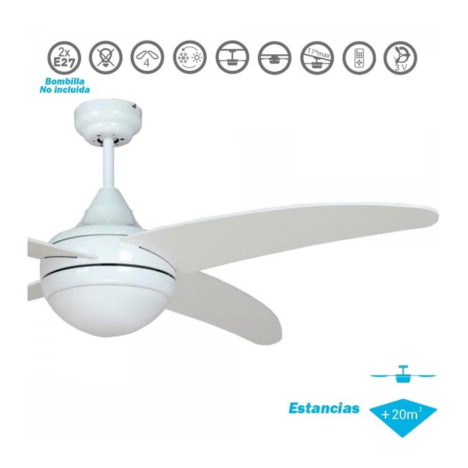 Ventilador techo modelo pelicano al mejor precio