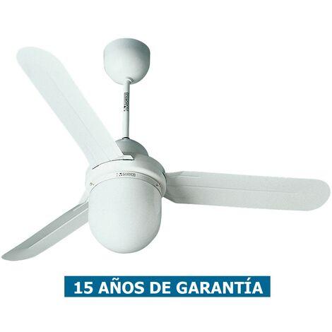 Ventilador de techo con luz Vortice 61001 NORDIK DESIGN 1S 90cm blanco