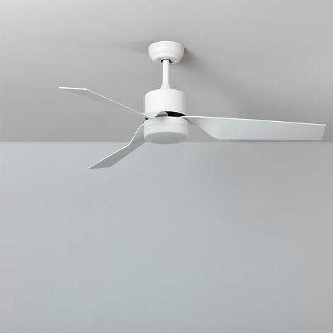 Ventilador de Techo LED Minimal PRO Blanco Ultrasilencioso CCT Seleccionable 70W Seleccionable (Cálido-Neutro-Frío)
