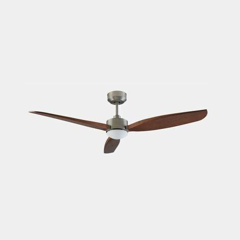 Ventilador de techo Leds-C4 30-8000-81-F9 Embat Cromo mate/madera