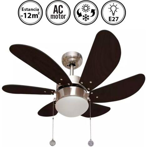 Ventilador de techo motor AC 77cm Delfín