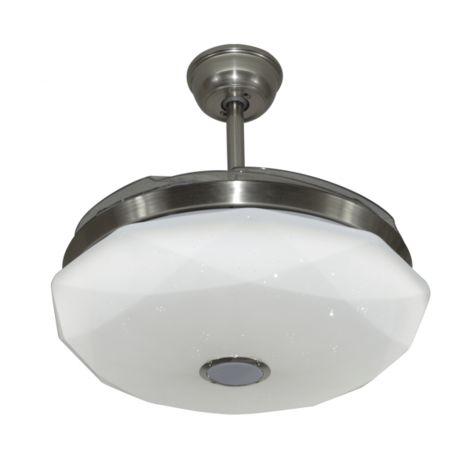 Ventilador de techo sin aspas y función altavoz modelo JAZZ de Fabrilamp