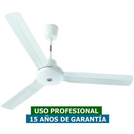 Ventilador de techo Vortice 61742 NORDIK TROPICAL IPX5 gris claro