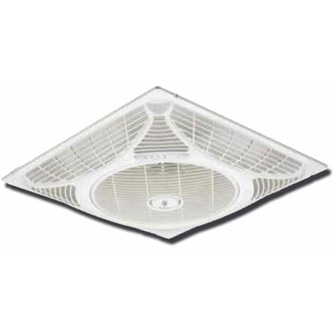 Ventilador de Techo Westinghouse Empotrado Wind Square 72060 - Para Techos desmontables de 60 x 60 cms - NOVEDAD !!! . Mando a D