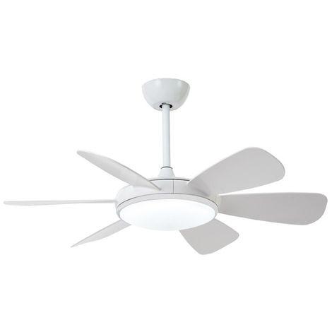 Ventilador LED Clip Blanco (24W)