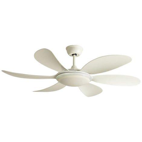 Ventilador LED Mary Blanco (24W)