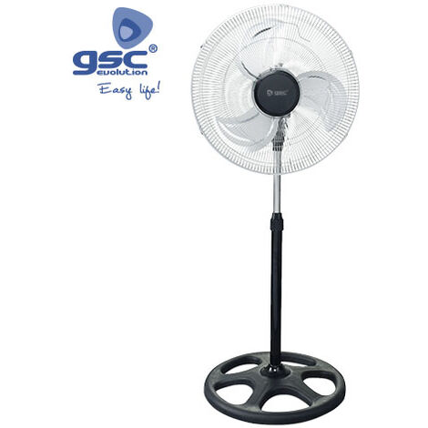 Ventilador metalico de pie 45cm 70W