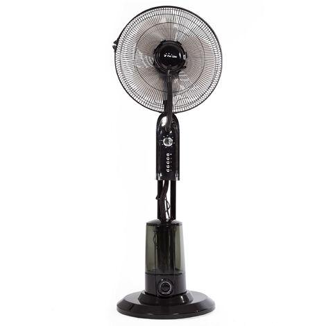 Ventilador Nebulizador refresca pero no moja con ionizador MISTY 1