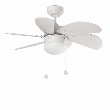 Ventilador Palao 810Mm Blanco 6 Palas 1Xe14