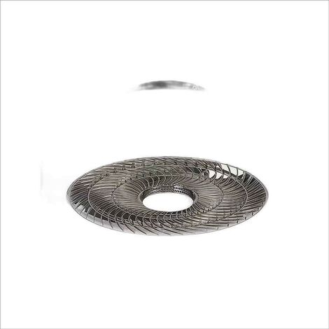 VENTILADOR PLAFON COMPACTO MODELO LEVANTE LED 40CM FUME/OPAL - ACB