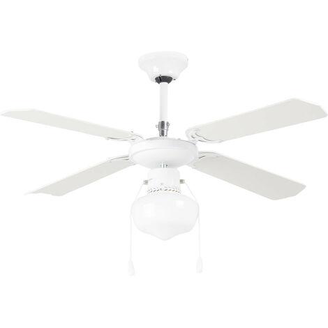 Ventilador Techo Con Luz 4 Aspas 103 Cm - RAYDAN HOME - 23036