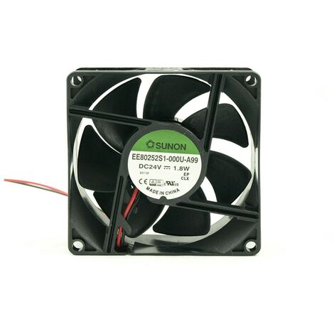 """main image of """"Ventilateur 24Vdc 80x80x25mm 2Wire Friction 2Wire"""""""