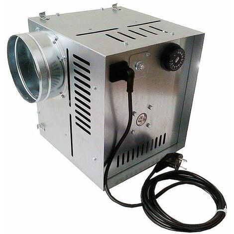 Ventilateur à flux d'air chaud efficace à haute température distributeur 400m3 / h