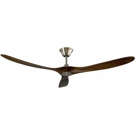 Ventilateur à pales en bois véritable cm 15,5x3,5 SULION 072316