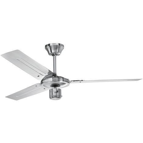 Ventilateur au plafond clima acier affiné 60 watts mode été/hiver D-VL 5666 AEG