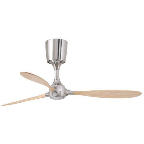 Ventilateur avec 3 pales bois Pin Itaca cm 45,5X132X132 FARO 33474